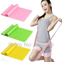 Wholesale Natural Tension Health Elastic Exercise Sport Body Latex Stretching Belt Pull Strap Yoga Resistance Bands