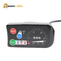 Cheap lectric Bicycle Part Electric Bicycle Motor Passion Ebike Top Quality 24V 36V 48V Electric Bicycle LED 890 Control Panel Display Electric...