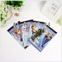coloring book - Frozen Stickers Book Crayon Painting Notebook Drawing The Book Frozen Stationery Cute Drawing Book Coloring Book Toy