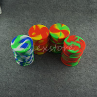 big barrels - Big ml silicone oil barrel container jars dab wax vaporizer oil rubber drum shape container large food grade silicon dry herb DHL