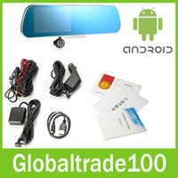 Cheap Gps Navigator android car mirror Best GMC German gps navigation