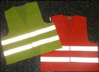 Wholesale Safety Clothing Reflective vest Safety Vest With Reflective Stripes Fluorescence Multicolor V clothing Safety Belt Traffic vest