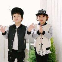 kids leather jackets - Kids Leather Jackets Fashion Korean Boys Jacket Child Clothes Kids Clothing Winter Coat Kids Jackets Children Outwear Kids Wear C16315