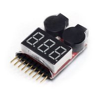 alarms metal monitor - LS4G S Lithium Battery Power Monitor Adjustable Alarm Voltage Detection