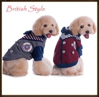 hair fall - British Style Pet Dog Clothes Puppy Large Dog Luxury Jumpsuit Hoodie Sweater Pet Dog Clothes Winter legs