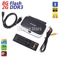 Cheap DHL Q7 XBMC 13.2 GOTHAM Installed Bluetooth RK3188T Quad Core Android Mini PC CS918 Google Smart TV BOX 4.4 2GB 8GB WIFI Airplay Miracast