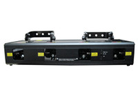 Wholesale Four Head Laser Stage Light RGBP colors mw DMX512 channels Laser Stage Light for DJ Party Disco Stage Effect