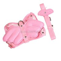 automatic pig feeders - Pink Adjustable Angle Wing Rabbit Ferret Pig Harness Leash Lead Strap Nylon hv3n