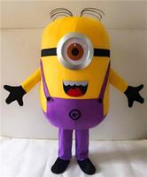 Wholesale On Sale Styles Despicable Me Minion Mascot Costume For Adults Despicable Me mascot costume