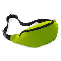 Wholesale Unisex Running Bum Bag Travel Handy Hiking Sport Fanny Pack Waist Belt Zip Pouch DHL FEDEX
