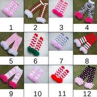 adult ruffle socks - Infant Baby Toddler Girls Boys baby christmas leg warmers ruffle lace leg warmers Socks halloween adult arm warmers style RK8328