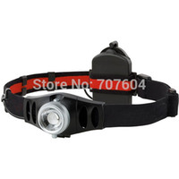 Wholesale USB Rechargeable CREE LED H7R LM Head torch Focus Q5 Headlamps Streetfighter Headlight Flashlight in gift box