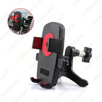 Wholesale Guarantee quality of car Automobile air conditioning outlet cellular Car phone holder navigator bracket easy to install