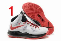 basketball wear - James generations basketball shoes Men help high wear resisting war boots shoes Nike air Including DHL shipping
