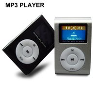 Yes mini sd - Mini MP3 Player with LCD Screen with TF Micro SD Card Slot Metal Clip Sport MP3 Players Hot Sell Now