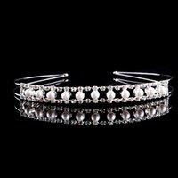 american jewellery - 5Pcs High end Crystal Rhinestone Crown Hair Hoop Rhinsetone Headband Bridal Hair Jewellery YC