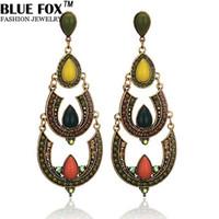big earrings trend - Fashion Trends Jewelry Alloy Big Teardrop shaped Earrings For Women Can Be Mixed Batch pf
