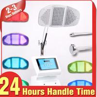 Wholesale Top Sale PDT Therapy Anti aging LED Lights Photon Facial Caring Detox Skin Rejuvenation Acne Treatment Machine Spa