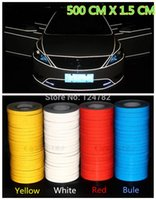 Wholesale 500cm X cm Motorcycle Reflective Tape Stickers Car Styling More Position can used colors to choose in A2