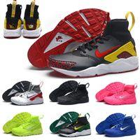 pu - 2016 Nike Air Huarache Duck Track Oregon Leather Limit Running Shoes For Mens Cheap Original Quality Nike Air Huaraches Men Shoes
