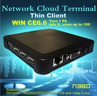 Wholesale thin client N380 TS660 MINI PC Wireless ARM11 Win CE OS Network Cloud Terminal Thin Client Net Computer Computer Sharing