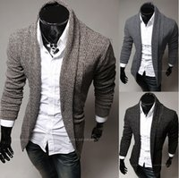 Wholesale mens thick wool cardigan cardigans men autumn fashion leisure mens all match pure leisure cardigan MY06Y hot selling