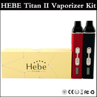 vapor pens - Titan kit HEBE Cloud vapor pen Dry herbal Vaporizer pen mAh Battery LCD Display Titan II Vaporizer VS TITAN Vaporizer kits
