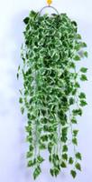 Wholesale Artificial Ivy Fake Leaves ft Artificial Ivy Leaf Garland Plants Vine Fake Foliage Flowers Home Decor Vine Leaves