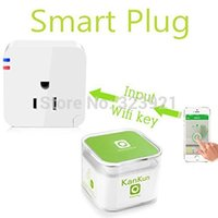 Wholesale Kankun for EU AU UK US Wifi smart plug for Iphone Ipad Android Smartphone socket Wireless Switch Smart socket wifi socket