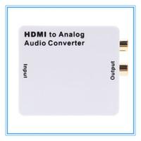 analog input - HDMI Input to R L Analog Audio Output Convertor Signal Digital Adapter