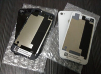 Wholesale High Quality Back Glass Battery Housing Door Back Cover Replacement Part For iphone G S DHL free