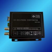Wholesale 3G HD SD SDI Video to Optic Media Converter Transceiver SDI Video over Fiber Transceiver km Single Mode