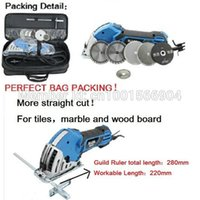 Wholesale Simple set Mini Desktop Dual use woodworking hand saws with cutting blades Plunge Saw Multi Circular Saw