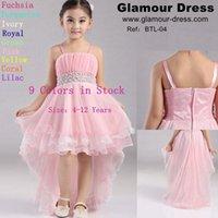 Cheap Free shipping flower girl dress for wedding 2016 new wedding dress trailing flower girl dress children kids dress model stage performances