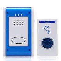 Wholesale Waterproof Cord Song Music doorbell kit Wireless Remote Control Home Door Bell