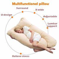 Wholesale Multifunction Maternity Pregnant Body Feeding Pillow U Shape Pillow for Pregnant Women Breastfeeding Pillow Nursing Assist Waist Support