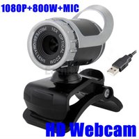 Wholesale 2014 New P W USB HD Webcam Camera Web Cam Web camera with MIC for Computer PC Laptop