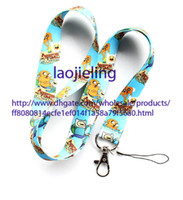 adventure time accessories - Adventure Time neck Lanyard Cell Phone PDA Key ID long strap Working card lanyard mobile phone accessories