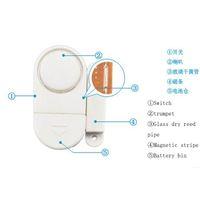 Wholesale Family wireless magnetic door alarm anti theft alarm door and window valid simple