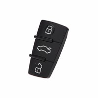 audi car key replacement - New Replacement Button Remote Car Key Fob Rubber Remote Key Push Pad for Audi Buttons Car Cover Interior Styling