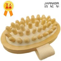 hand held massager - Hand Held Natural Wooden Body Massager Hand Massager Brush Cellulite Remover Relaxing Muscle Shoulder Massager By JARNIER