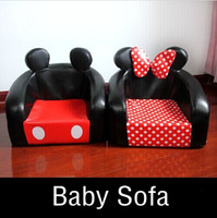 best furniture sofa - Cute Cartoon Mickey Baby Sofa Chair Novelty Seating Bag Kids Bedroom Furniture Chairs For Children Best Gifts