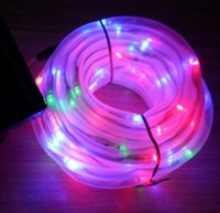 Wholesale 100 Leds Solar Power Strings Garden Holiday Decorative Lamp Rope Lights For Garden