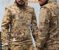 Wholesale Markings camouflage shirt pants Sets Military Uniform Army SWAT Equipment Tactical Combat Airsoft Suit men hunting clothing