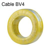 air conditioning wire - m Electrical wire cable bv4 copper wire single core copper wire household electrical wire air conditioning