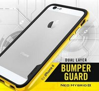 Wholesale Neo Hybrid EX Bumbee TPU Frame SGP Case for iphone plus Slim Skin Bumper for iphone6 iphone G withretail box