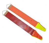 Wholesale Brandnew new arrive Thicken Canvas Leather Sharpening Strop For Barber Open Straight Razor Sharpening Shave
