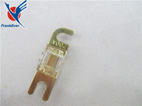 Wholesale A a Gold Plated Car Audio AFS Mini ANL Fuse Auto Stud Fuses