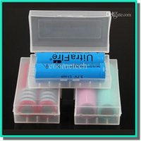 Wholesale Battery storage box battery storage clip holder box durable plastic battery container with colors