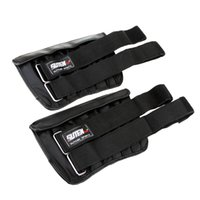 adjustable wrist weights - 2pcs Adjustable Fitness Weighted Ankle Wrap Leg Wrist Band Exercise Boxing Training Weight Leg Band Max Loading kg Y0865